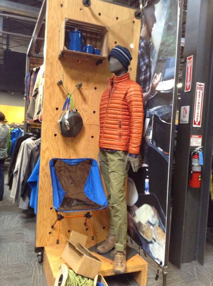 Men's Outerwear Wing Wall