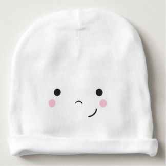 Cute Happy Smiley Face Baby Beanie