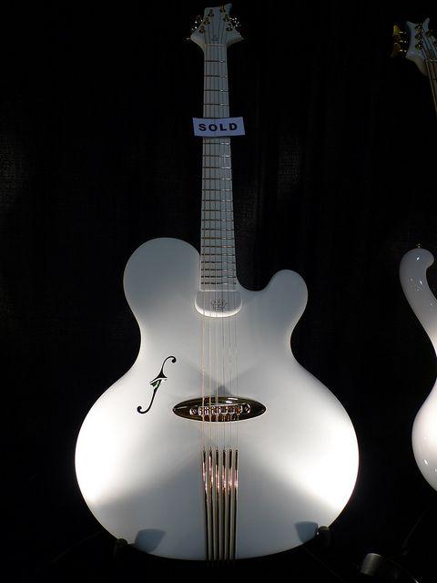 Jens Ritter Guitar - NAMM Show 2010 by Vintage & Rare, via Flickr