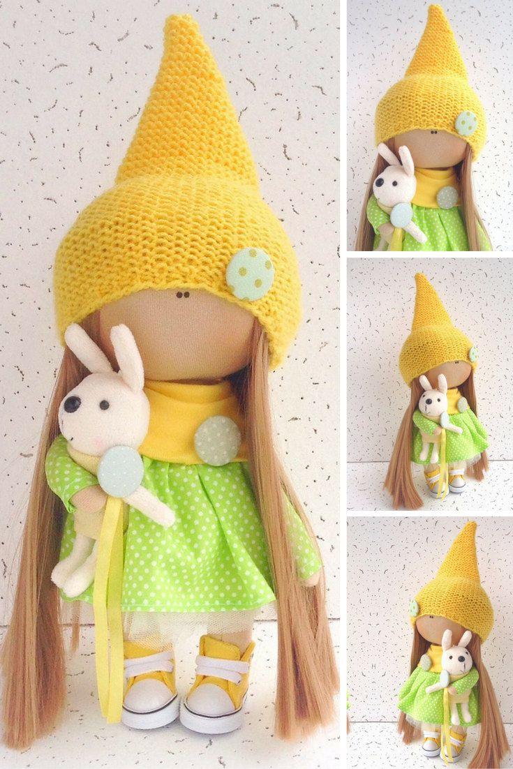 Baby doll Tilda doll Interior doll Cloth doll by AnnKirillartPlace