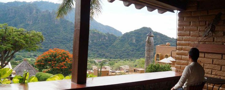 Los 5 hoteles de Tepoztlán con las vistas más asombrosas.