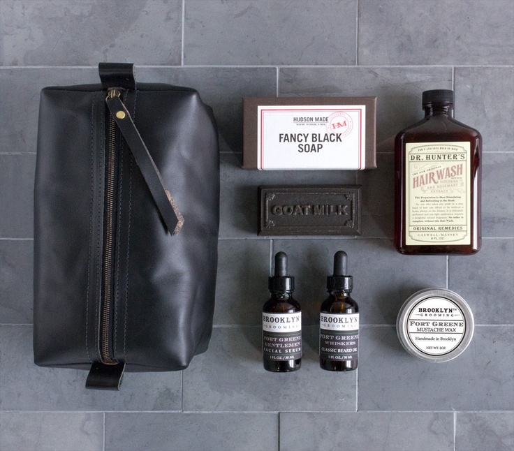 WE think this Dopp kit set from Hudson Made, is a perfect gift for that jetsetter in your life...or for yourself.