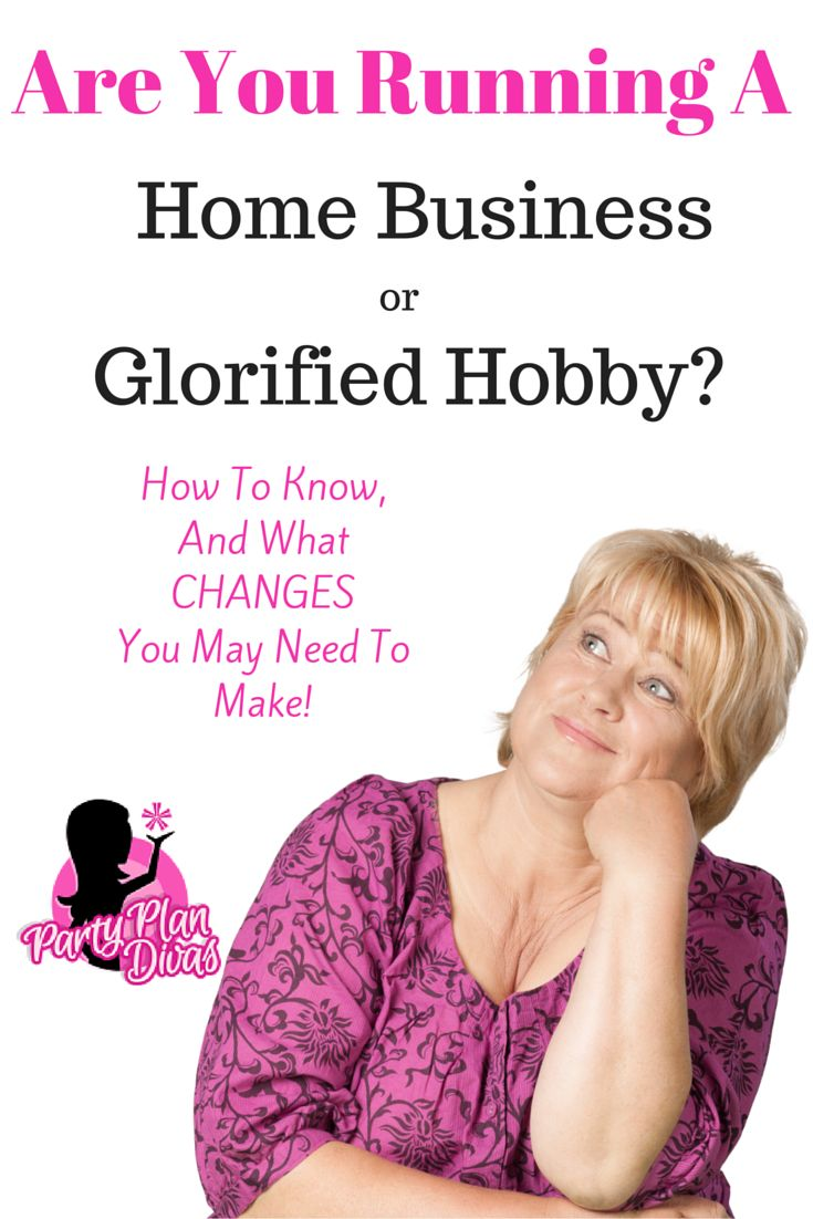Direct Sales: Home Business or Glorified Hobby? Ask yourself this question to fully determine your path to success in the party plan industry.