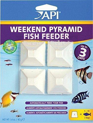 API Mini Pyramid Fish Food - 3 Day Automatic Fish Feeder