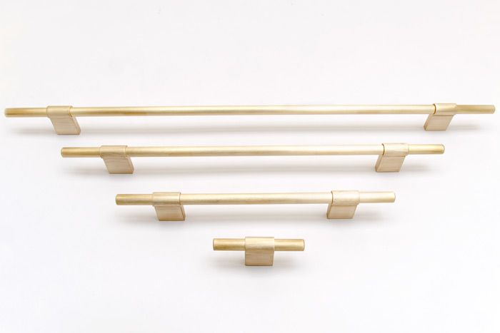 LINE series is our new handle in several different lengths, in this image you se brushed brass. http://bb-sweden.se/?lang=en#news-line-release-this-spring