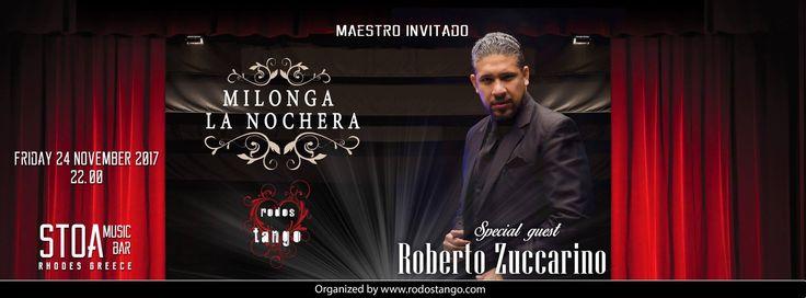 """Εβδομαδιαίαβραδιά αργεντίνικου τάνγκο στην καρδια της Ρόδου. Milonga """"La Nochera""""24 Νοεμβρίου 2017 """"Tango will always be the best therapy, ever!"""" Το τάνγκο μας περιμένει όλους στην milonga της Ρόδου, στη milonga """"La Noch..."""