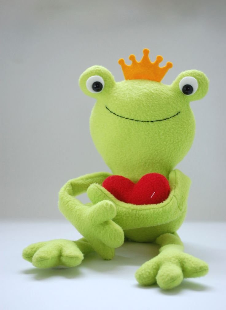 Ferdinand is a lovable frog, perfect for Valentine's Day or any day. He's got Velcro hands and feet so that he can hug a soft, plush heart (or a box of candy or another gift you have in mind). Oh, and with that golden crown he's also a frog prince. To make Ferdinand you'll... Read More »