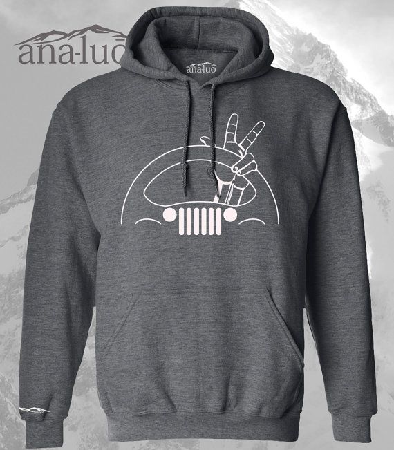 Jeep Wave Hoodie by Analuo on Etsy