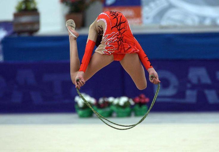 Olimpiada Nacional Sede Puebla Gimnasia Olimpica Foto: LadoB