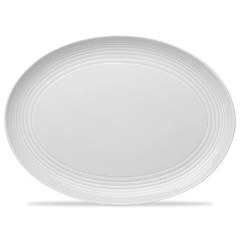 Royal Doulton - Gordon Ramsay White Maze Oval Platter | Peter's of Kensington