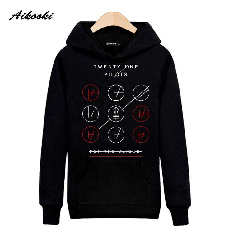 Rock Band Twenty One Pilots Cotton Harajuku Hoodies And Sweatshirt Street Wear Peculiar Creative Music Star Idol Fans Hooded 2xl #Affiliate