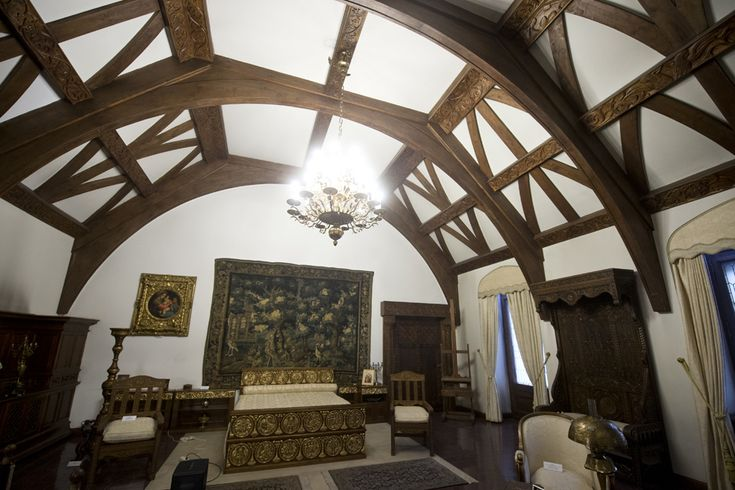 Dormitorul Reginei Maria, Muzeul Cotroceni - Palatul Cotroceni (Octav Ganea)