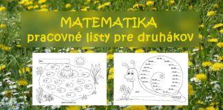 Matematika pre druhákov – nové pracovné listy