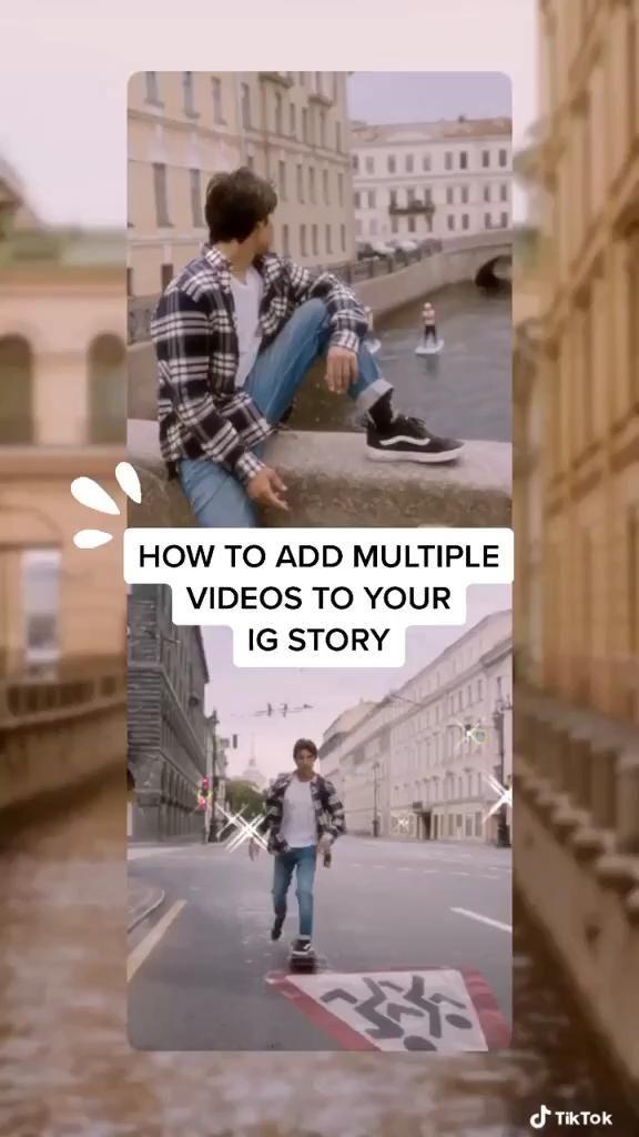 Multiple Videos On An Instagram Story Ig Stories Hacks Instagram Instagram Ideas Post Creative Instagram Photo Ideas