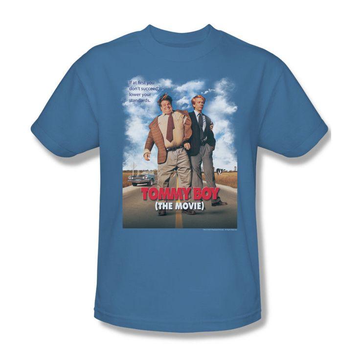 Tommy Boy Poster T Shirt Retro 90's SNL Movie Cotton Graphic Tee PAR508   eBay