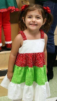 How To Sew A Ruffle Dress – A Quick 3 Tier Ruffle Dress Tutorial For A Little Girl