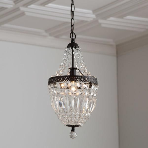 Evelynne Crystal Chandelier Inspired By Glamorous French Empire Lighting This And Metal Mini Features Elegantly D Strands That