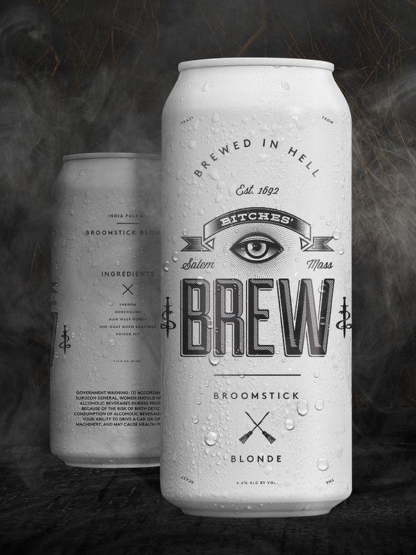 Bitches Brew | #packaging #bottledesign #beer