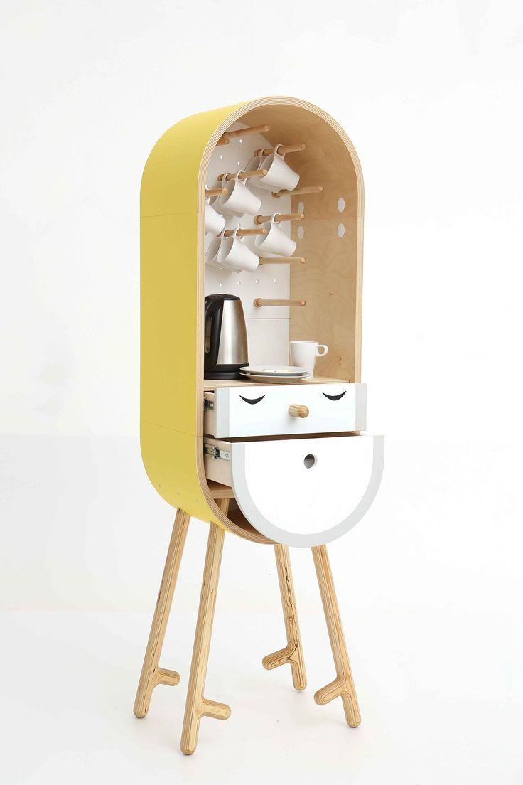LO-LO The Capsular Microkitchen   Designer: KAFEDRA MEBELI #FurnitureDesign #IndustrialDesign