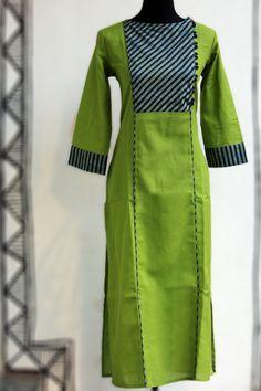 spring green & stripe dori