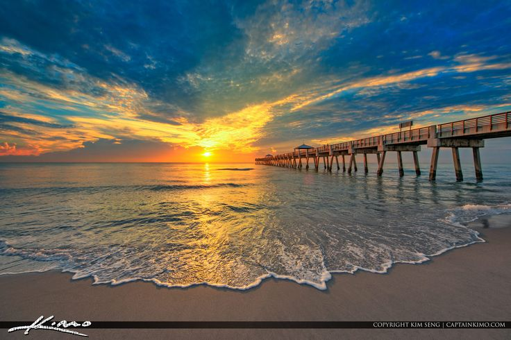 https://flic.kr/p/KN3zRg   Early Morning Glow Juno Beach Florida   Beautiful early morning glow along the Atlantic Coast in Juno Beach Fishing Pier. HDR image created using Aurora HDR software by Macphun. captainkimo.com/early-morning-glow-juno-beach-florida/ #JunoBeach #SouthFlorida #LoveFL #JunoBeachPier #Pier #Sunrise #Florida