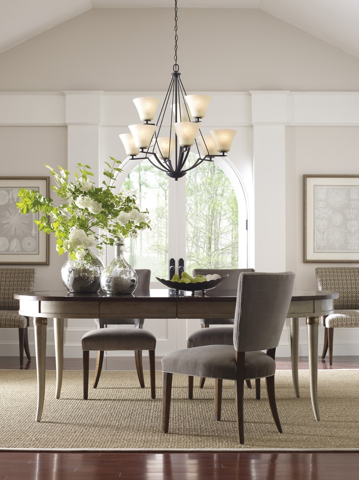 Progress Lighting's Bravo family features an upgraded scale at an affordable price. A current, truly transitional style is achieved with free-flowing arms that are gracefully suspended with fluted shaped glass shades.      http://progresslighting.com/products.aspx?Sku=bravo