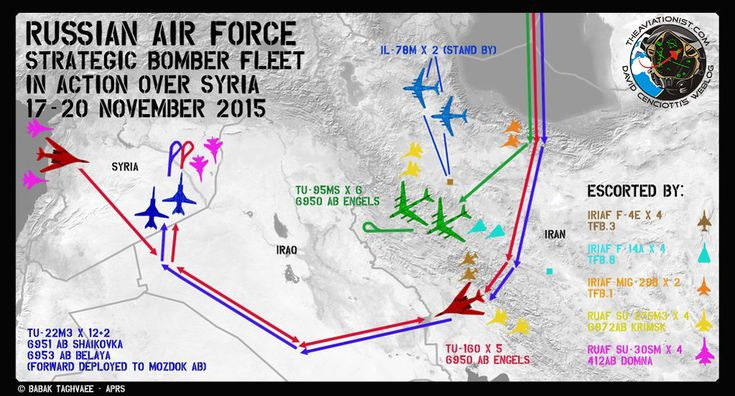 The Aviationist » This Infographic provides all the details about the Russian Strategic Bomber Fleet Operations over Syria