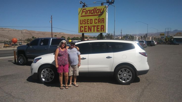DALE AND CHERYL 's new 2013 CHEVROLET TRAVERSE! Congratulations and best wishes from Findlay Chevy Buick GMC and MICHAEL WILLIAMS.