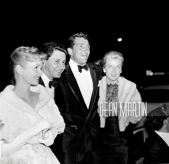 Dean and Jeanne with Debbie Reynolds and Eddie Fisher