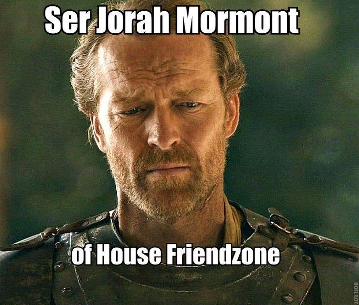 This sums up Ser Jorah. - Imgur