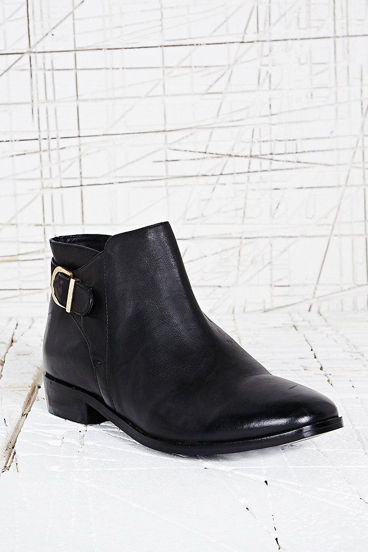 Deena & Ozzy Saint Vintage Ankle Boot in Black