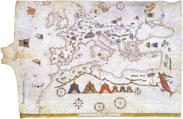 Vesconte Maggiolo, Portulano (1541)