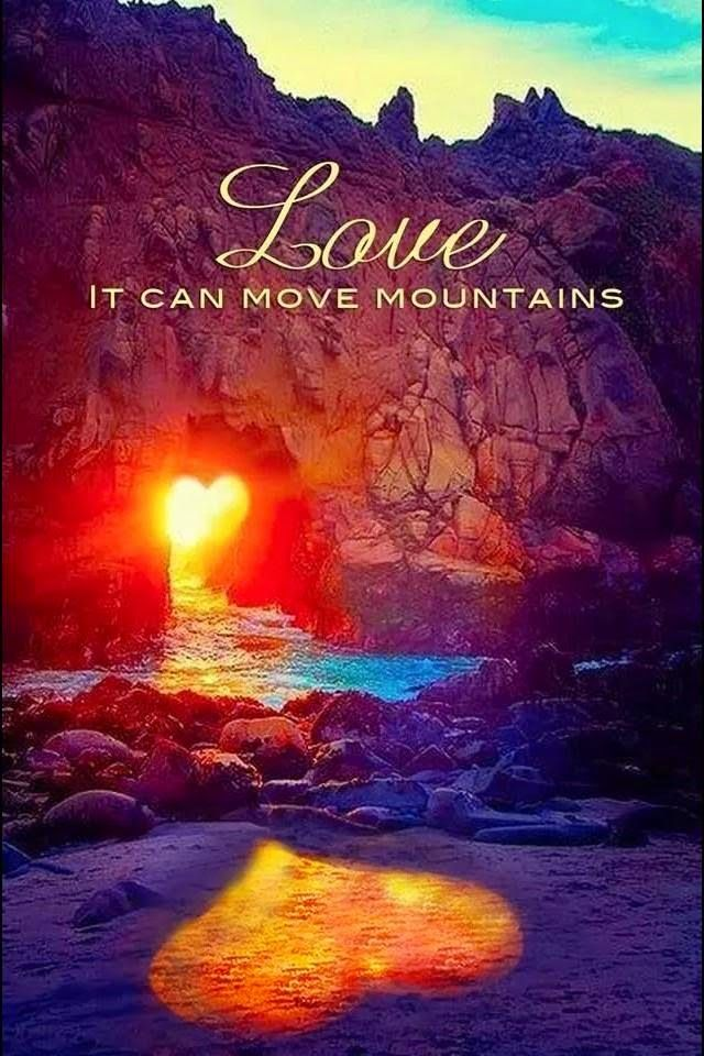 Love it can move moutains