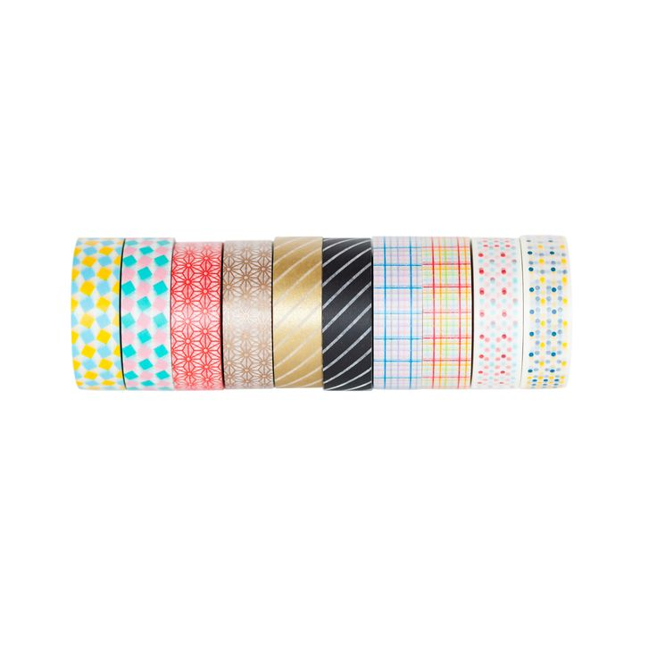 Various washi tape rolls available instore or online // London Fields Shoppe in Vancouver (BC)