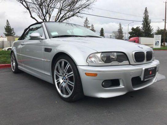 Convertible 2004 BMW M3 With 2 Door In Sacramento CA 95826