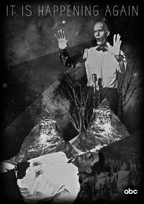 Twin Peaks - Julien Pacaud • Illustration • Perpendicular Dreams