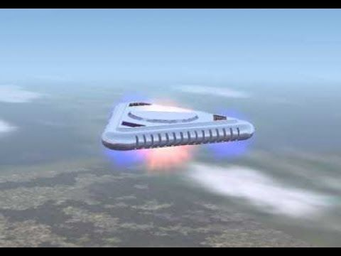 Real UFO With Aliens UFO Caught From Helicopter Over ...