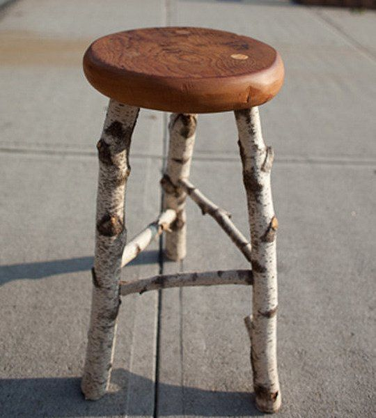 Wintery Woodlands: Birch Stool, Barnwood Bench & Leaf Collection — The Tuesday MORNING Scavenger