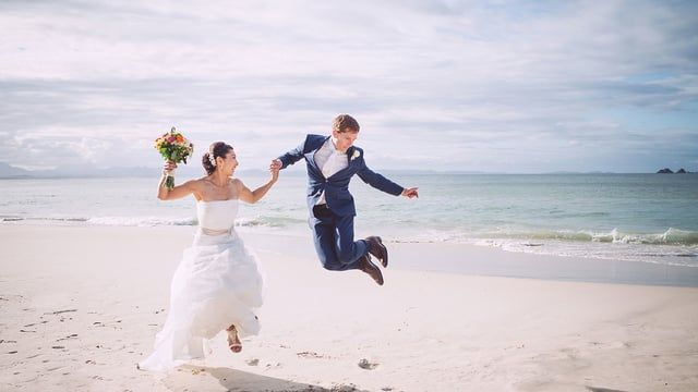 During the wedding of M + L we collaborated with the local talent Ann-Louise from Possum Creek Studio's, it was amazing to see how relaxed and happy M + L where after the wedding dancing on the beach like no one was watching!  Cover Photo: Possum Creek Studio