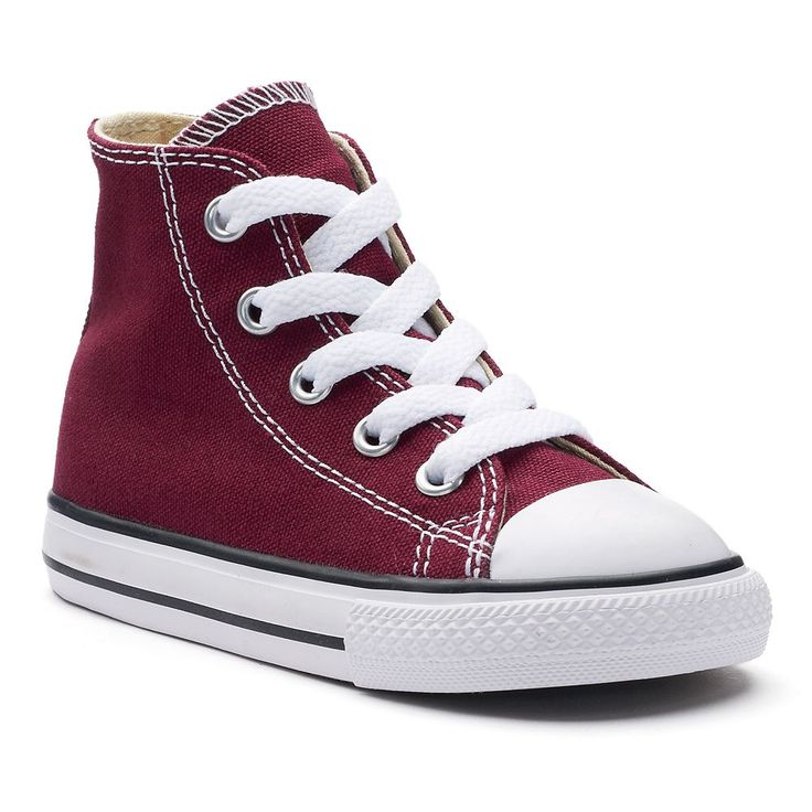 Toddler Converse Chuck Taylor All Star High Top Sneakers, Girl's, Size: 6 T, Brt Red