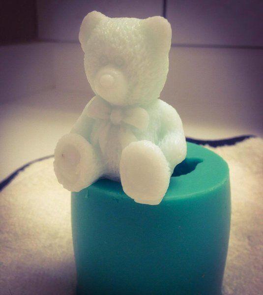 TEDDY BEAR SOAP! :O