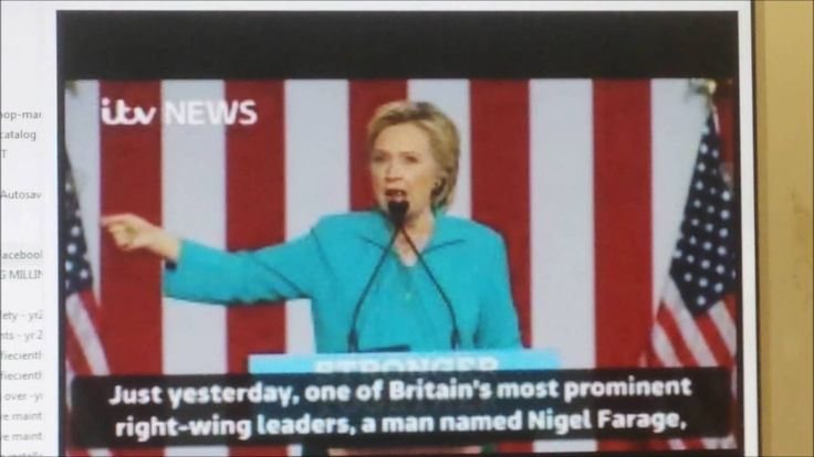 TNTV : Hillary Clinton ATTACK On Nigel Farage REVIEWED !