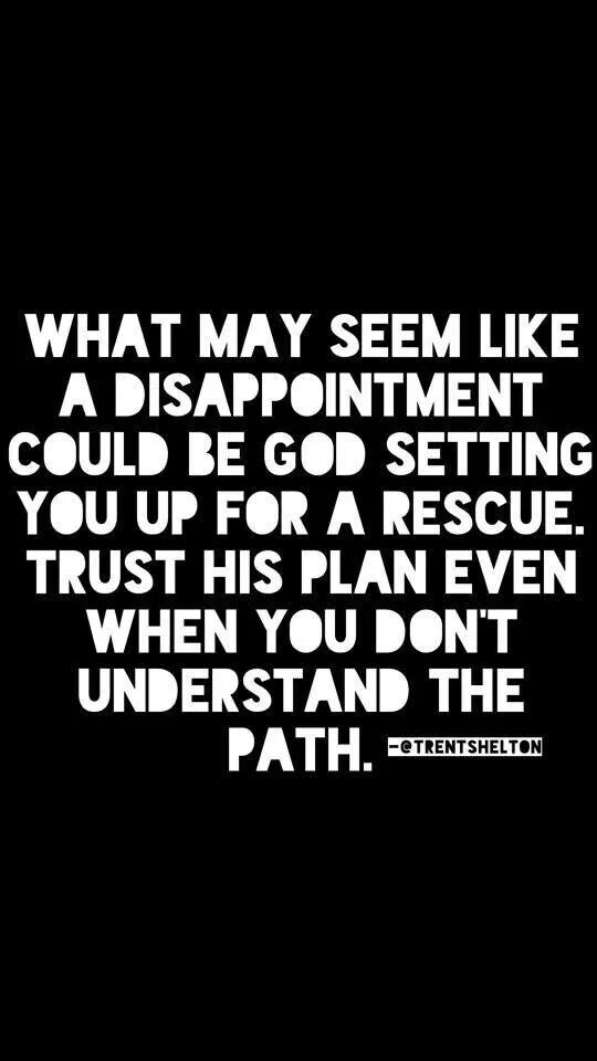 You never know what the outcome of events may be. There can definitely be a silver lining in the challenges.
