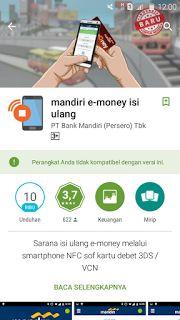 aplikasi emoney mandiri