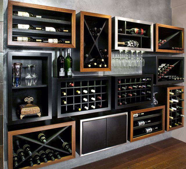 25 Clever Under Stairs Ideas To Optimize The Leftover: Best 25+ Modern Wine Rack Ideas On Pinterest