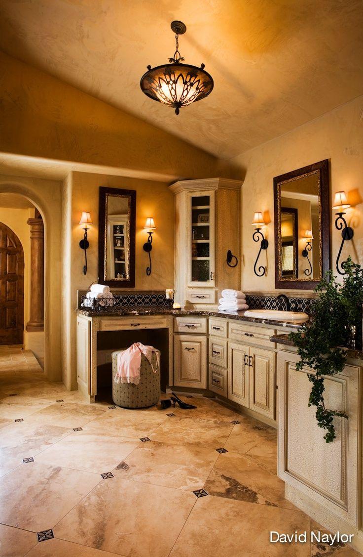 281 best master bath images on pinterest dream bathrooms master bath tuscan stunning stone floor in this master bath