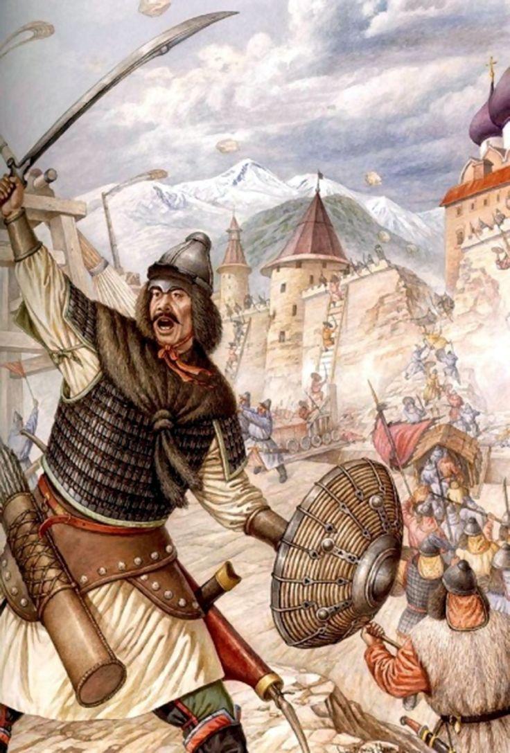 China and russian mongol frq