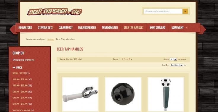 http://beerdispenser.org/beer-tap-handles.html