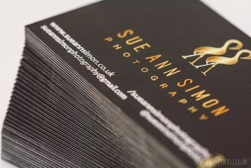 Moo luxe business cards review diy gold foil edge photographers reheart Image collections