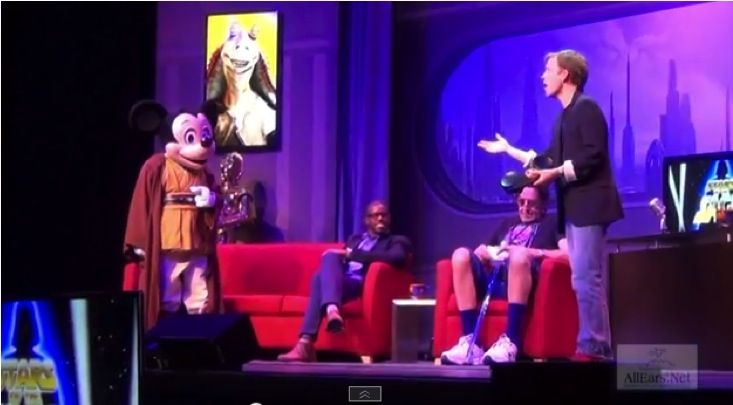 Jedi mickey sing along at starwarsweekends2014 full version hd on